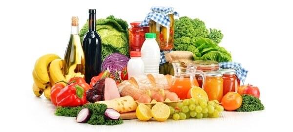 Potraviny pro dostatečné množství energie