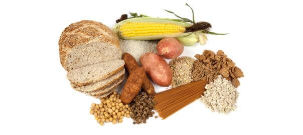 Potraviny obsahující komplexní sacharidy