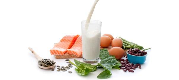Potraviny obsahující bílkoviny