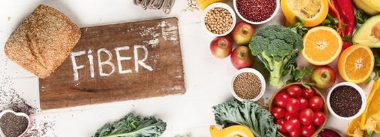 Potraviny s vysokým obsahem vlákniny